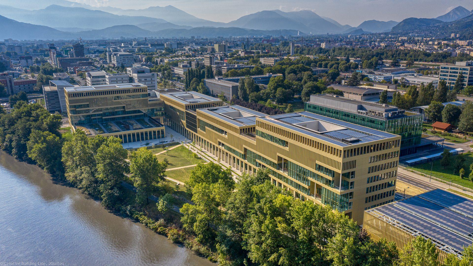 IntenCity, Le nouveau site de Schneider Electric sur Grenoble