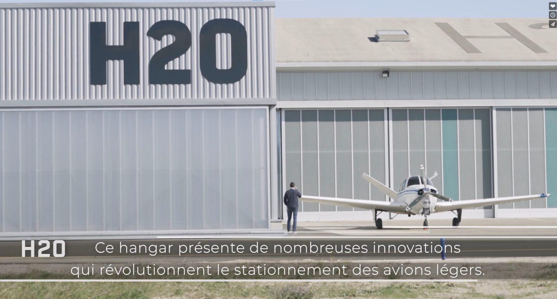 «H20», un hangar innovant réalisé par Eco&Design